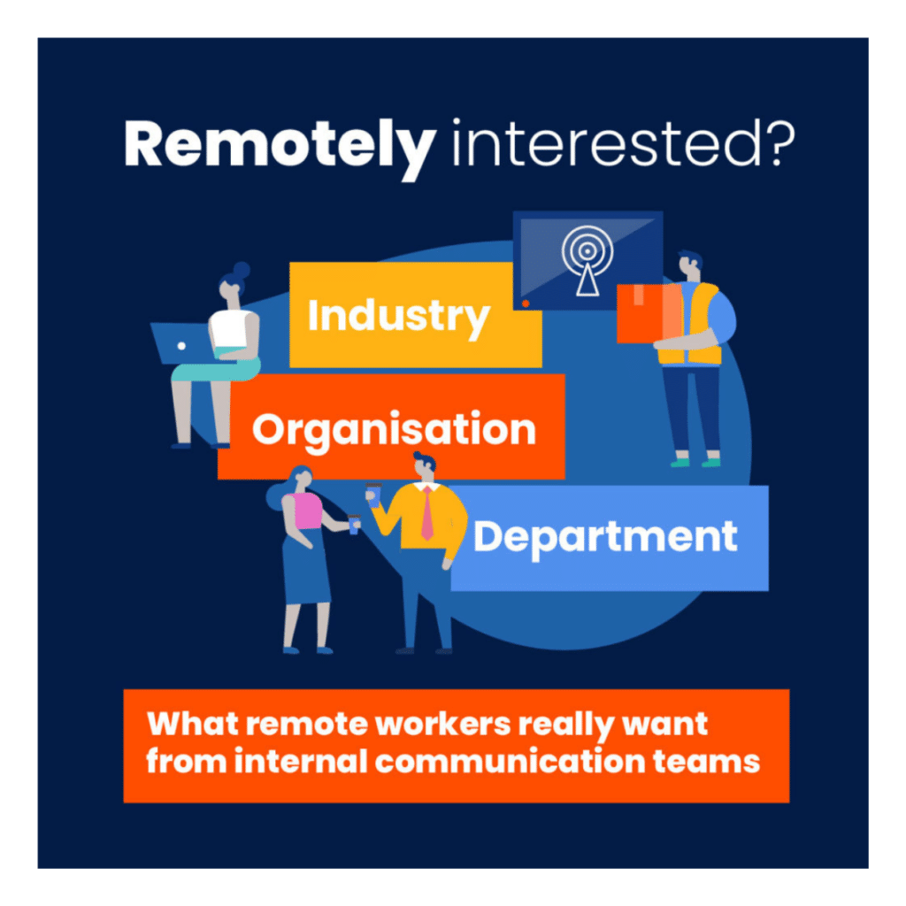 Remotely interested?