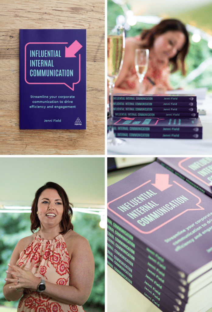 Influential Internal Communication book launch montage